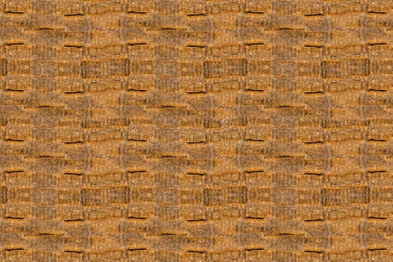 Textuur van heel wat balen van hooi royalty-vrije stock foto