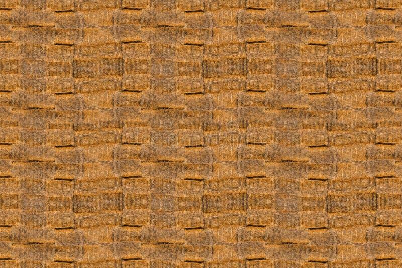 Textuur van heel wat balen van hooi royalty-vrije stock afbeelding
