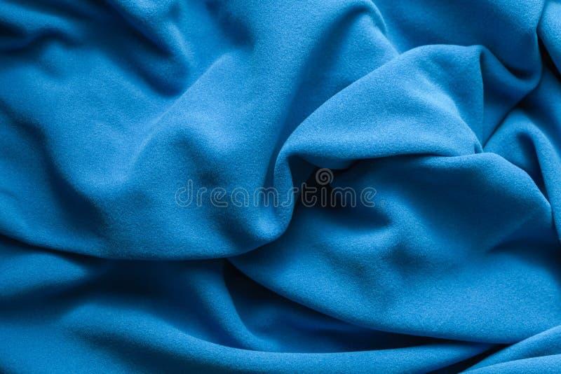 Textuur van heldere blauwe vacht stock fotografie