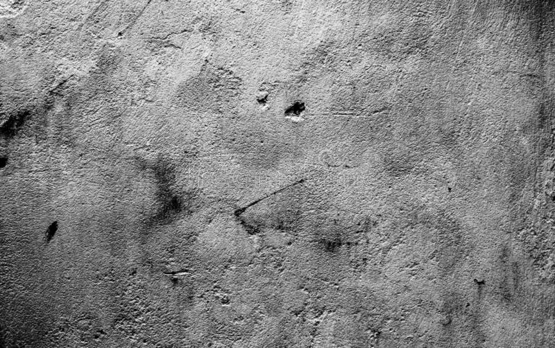 Textuur van het het cementbehang van de Drak de grijze kleur royalty-vrije stock foto