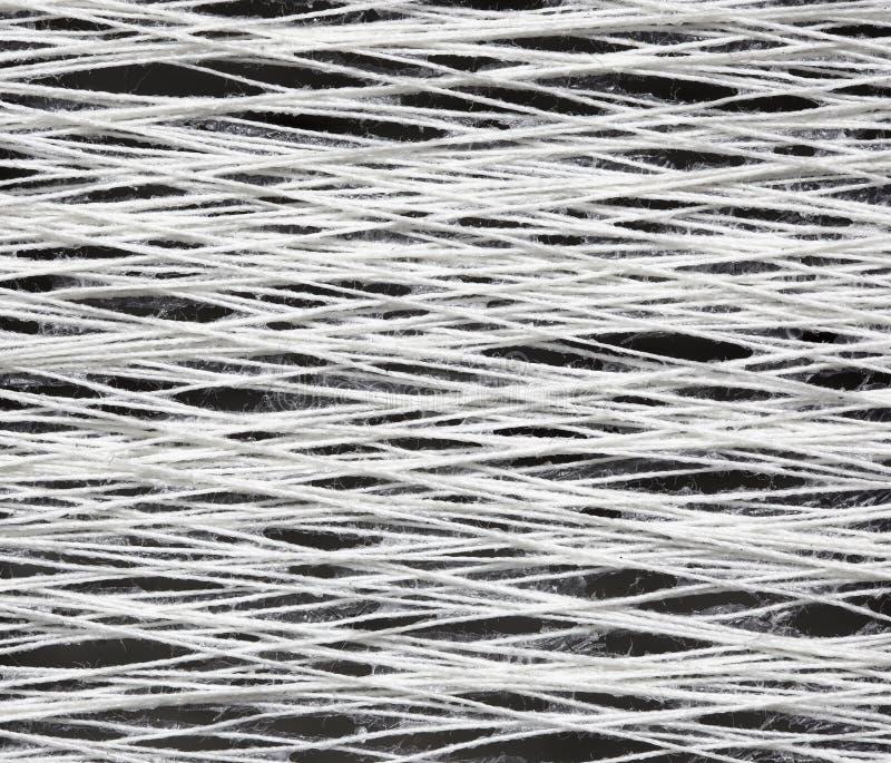 Textuur van het garen met lijm royalty-vrije stock afbeelding