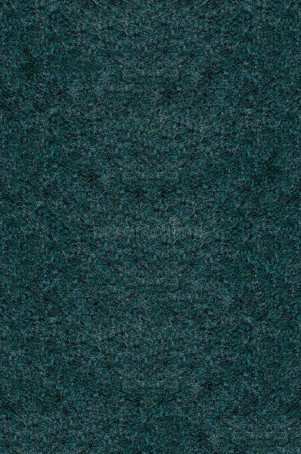 Textuur van het Groene Stootkussen van het Vezelschuursponsje royalty-vrije stock afbeelding