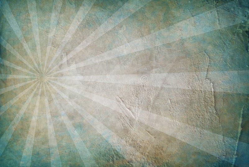 Textuur van het Grunge de blauwe cement stock foto's
