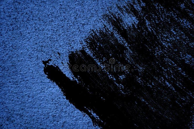 Textuur van het Grunge de ultra blauwe Concrete cement, steenoppervlakte, rotsachtergrond royalty-vrije stock afbeelding