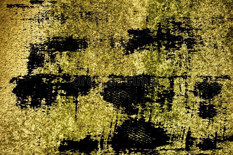 Textuur van het Grunge de ultra gele Concrete cement, steenoppervlakte, rotsachtergrond royalty-vrije stock afbeelding