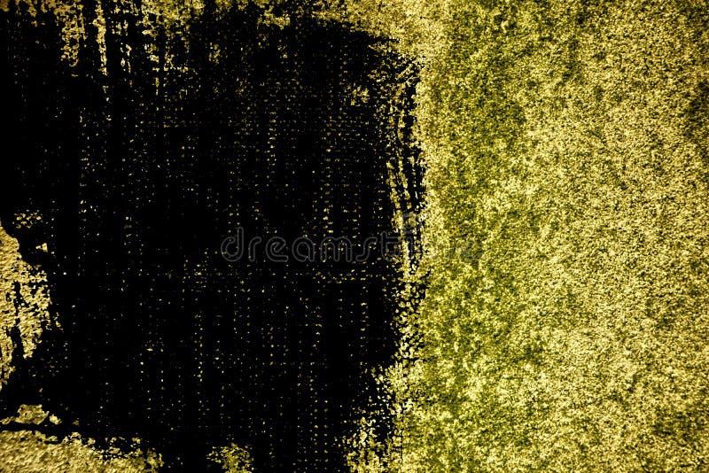 Textuur van het Grunge de ultra gele Concrete cement, steenoppervlakte, rotsachtergrond stock foto's
