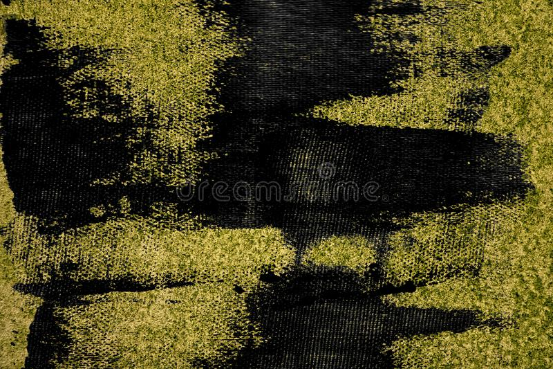 Textuur van het Grunge de ultra gele Concrete cement, steenoppervlakte, rotsachtergrond stock afbeelding