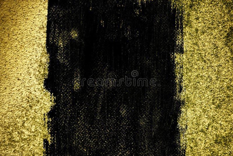 Textuur van het Grunge de ultra gele Concrete cement, steenoppervlakte, rotsachtergrond stock foto