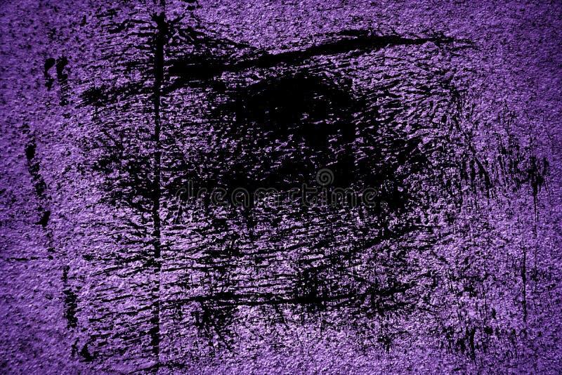Textuur van het Grunge de ultra purpere Concrete cement, steenoppervlakte, rotsachtergrond stock afbeelding