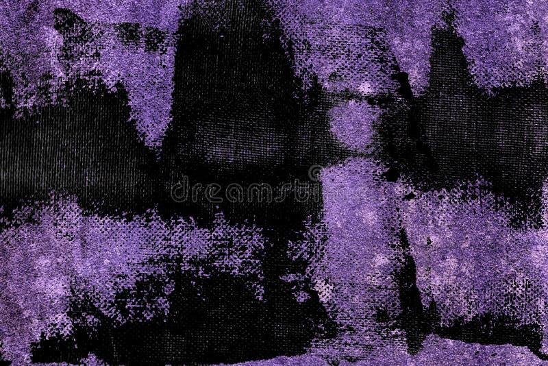 Textuur van het Grunge de ultra purpere Concrete cement, steenoppervlakte, rotsachtergrond stock foto