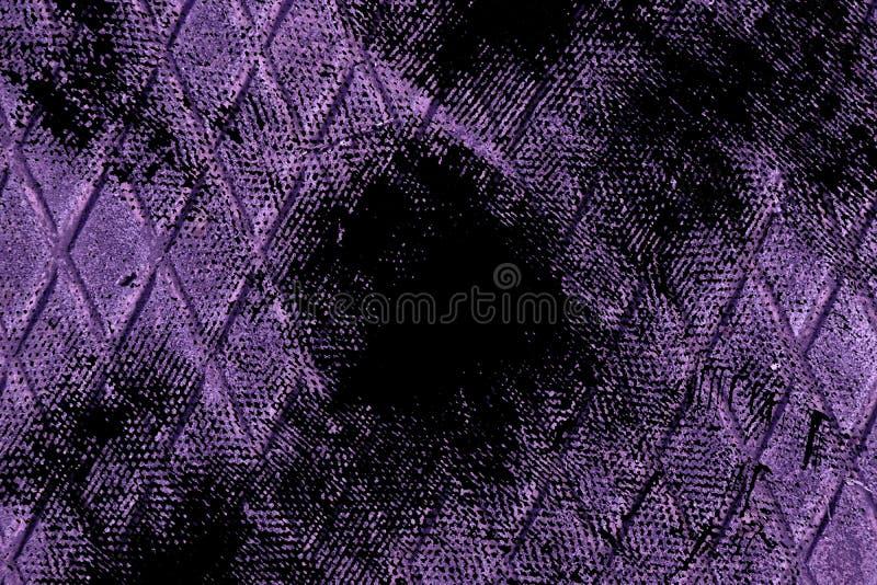 Textuur van het Grunge de vuile ultra purpere Roestvrije staal, ijzerachtergrond voor ontwerpergebruik royalty-vrije stock foto