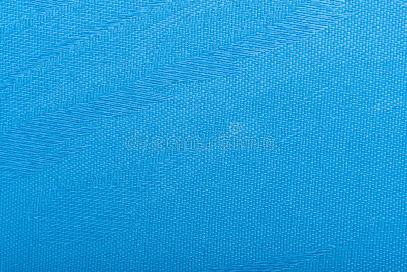 Textuur van het stoffen de blauwe Gordijn Achtergrond van het stoffen de blinde gordijn stock foto's