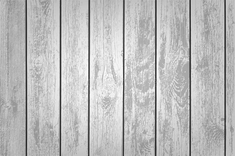 Textuur van houten panelen vector illustratie