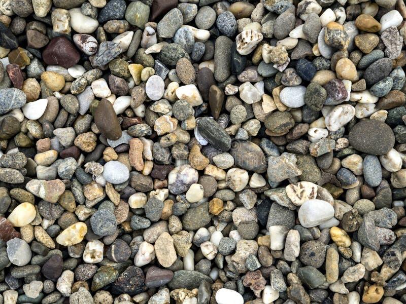 Textuur van kiezelstenen stock afbeelding