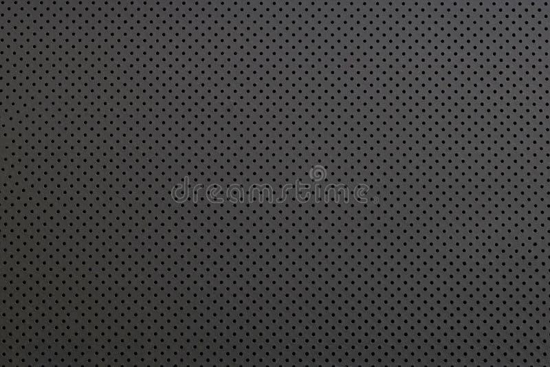 Textuur van kleine zwarte staalgrating, abstracte patroonachtergrond royalty-vrije stock foto's