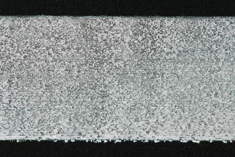 Textuur van krijtlijn aan boord stock afbeeldingen