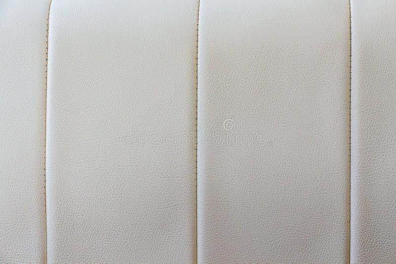 Textuur van leerbank royalty-vrije stock foto