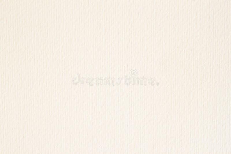 Textuur van licht roomdocument, achtergrond voor ontwerp met exemplaar ruimteteksten of beeld royalty-vrije stock foto