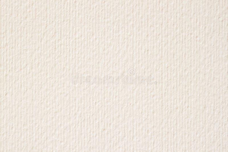 Textuur van licht roomdocument, achtergrond voor ontwerp met exemplaar ruimteteksten of beeld stock foto