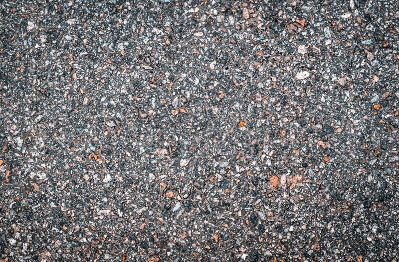 Textuur van licht vlot asfalt met kleine stenen r stock illustratie
