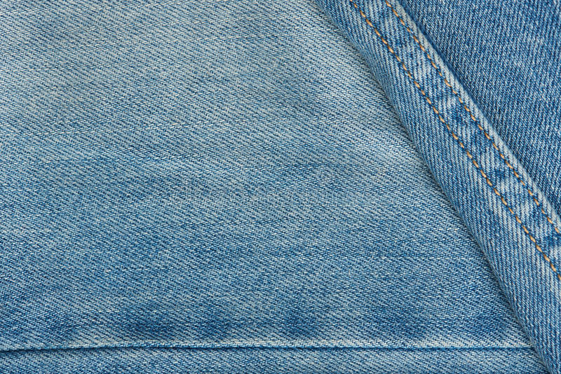 Textuur van lichte jeans royalty-vrije stock afbeeldingen