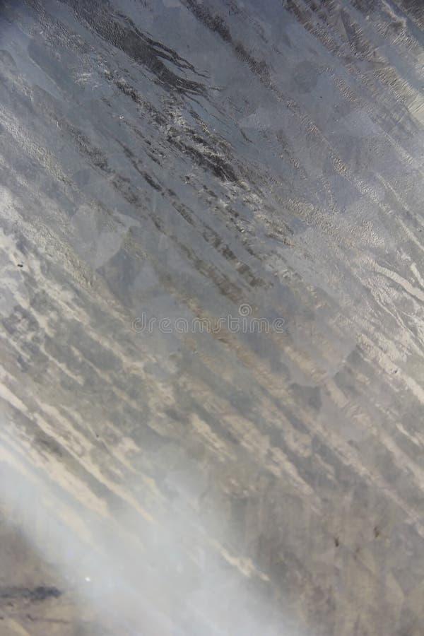 Textuur van metaalmuur een oppervlakte met krassen, vlekken en barsten royalty-vrije stock afbeeldingen