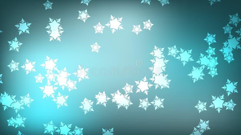 Textuur van mooie feestelijke kosmische magische multi-colored gekleurde de winter heldere witte iriserende bont patt van Nieuwja stock illustratie