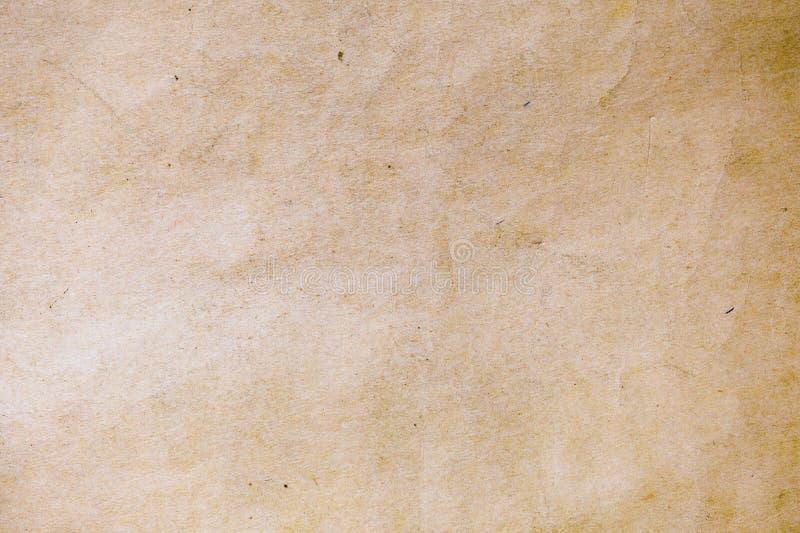 Textuur van oud document royalty-vrije stock afbeelding