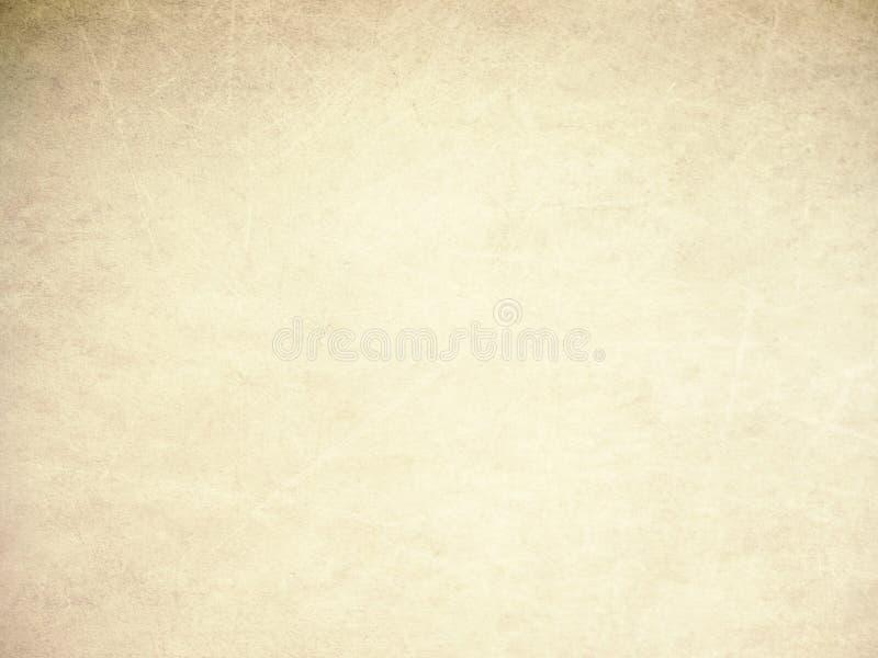Textuur van oud document stock illustratie