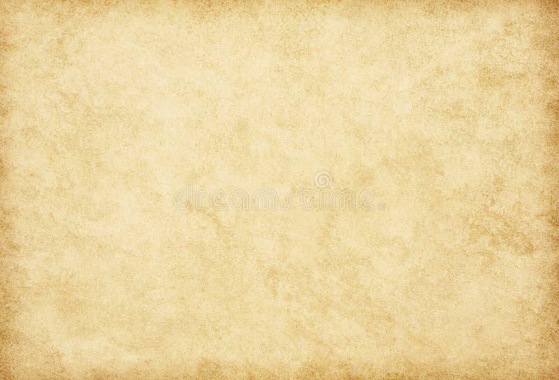 Textuur van oud document Beige achtergrond royalty-vrije stock afbeelding