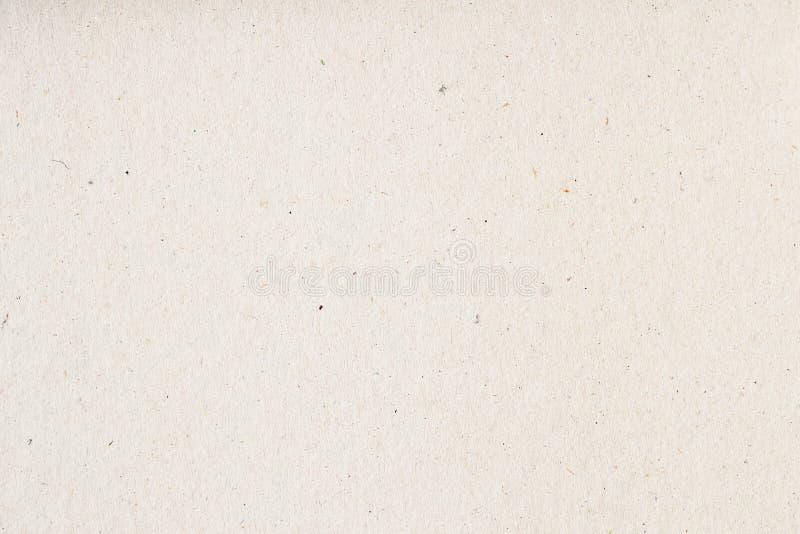Textuur van oud organisch licht roomdocument, achtergrond voor ontwerp met exemplaar ruimteteksten of beeld Het rekupereerbare ma royalty-vrije stock foto