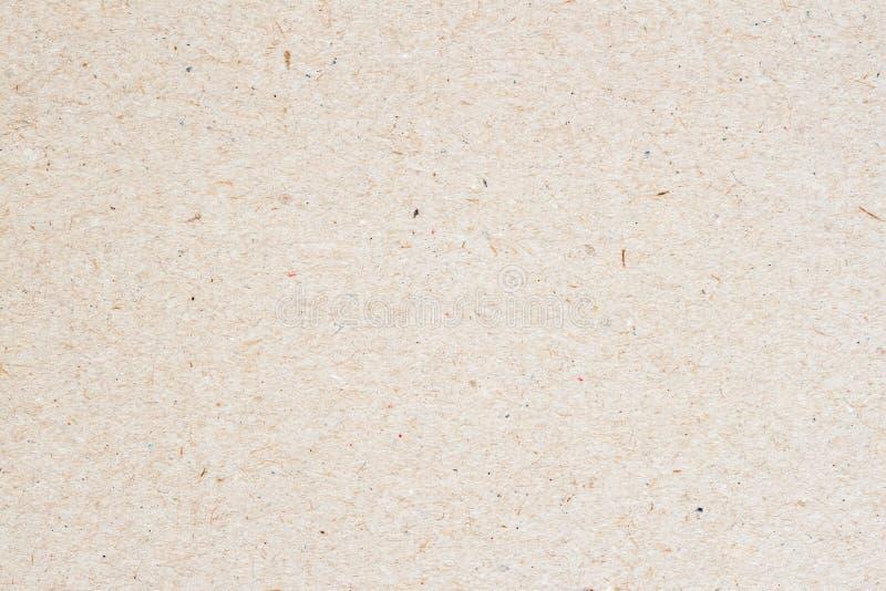 Textuur van oud organisch licht roomdocument, achtergrond voor ontwerp met exemplaar ruimteteksten of beeld Het rekupereerbare ma royalty-vrije stock afbeeldingen