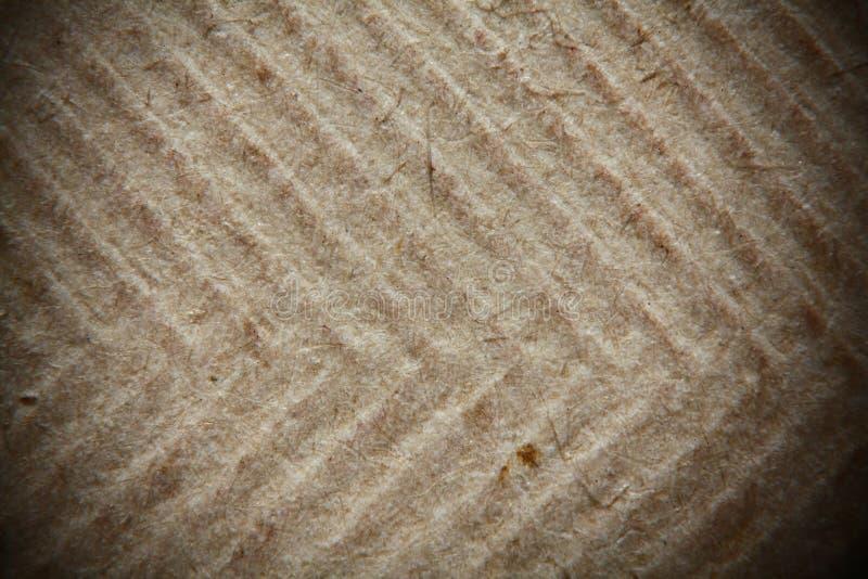 textuur van oud Verfrommeld Document stock foto