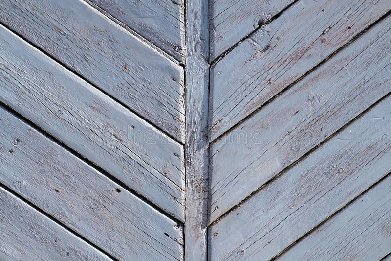 Textuur van oude raad geschikte visgraat stock foto