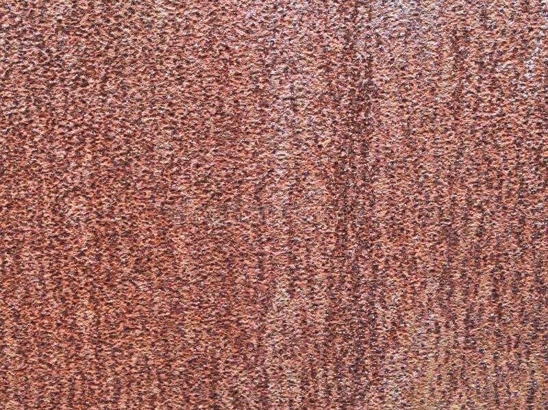 Textuur van oude roestige ruwe metaalplaat als achtergrond royalty-vrije stock foto