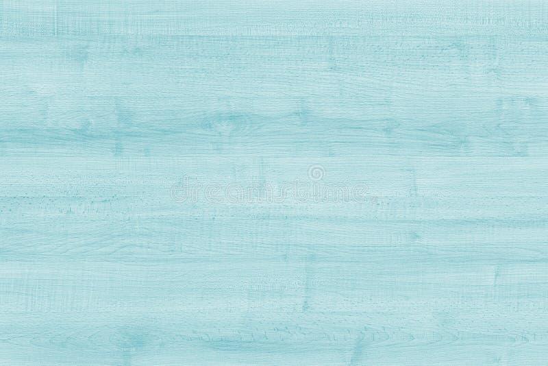 Textuur van pastelkleur de houten planken, Uitstekende blauwe houten achtergrond Oude doorstane aquamarijnraad Textuur Patroon Ho stock foto's