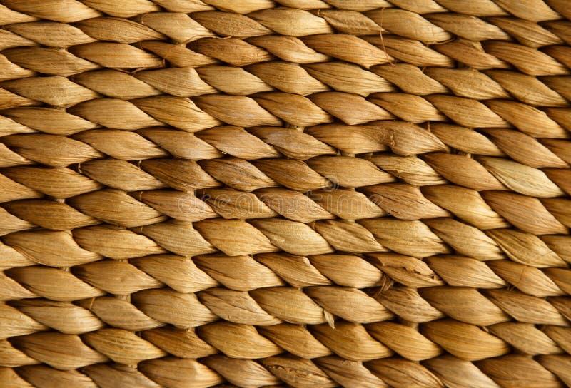 Textuur van rieten mand royalty-vrije stock foto