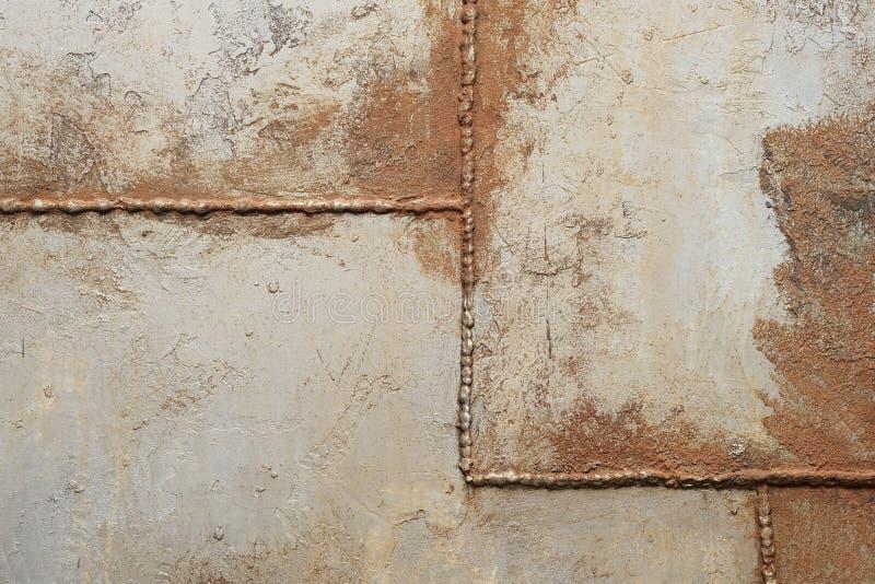 Textuur van roestig metaal royalty-vrije stock fotografie