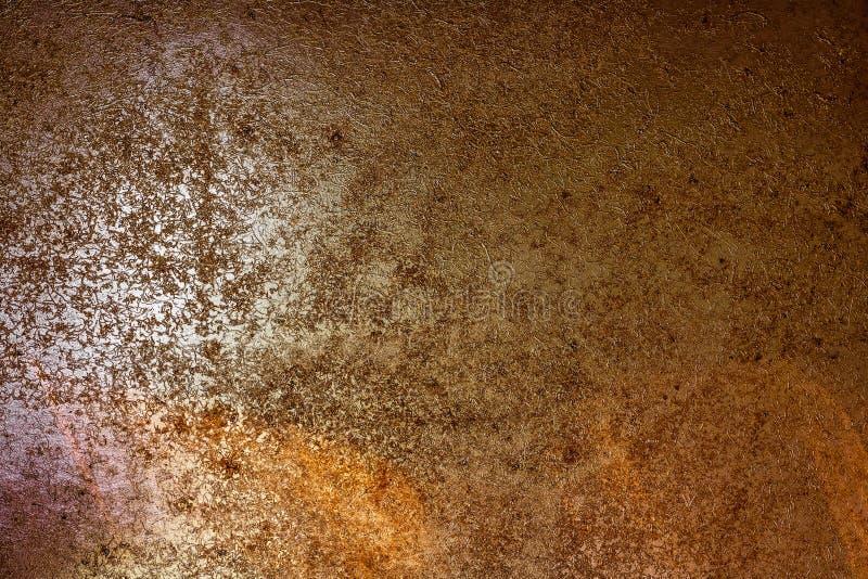 Textuur van roestige metaalachtergrond De oude oppervlakte van het roestijzer royalty-vrije stock afbeeldingen