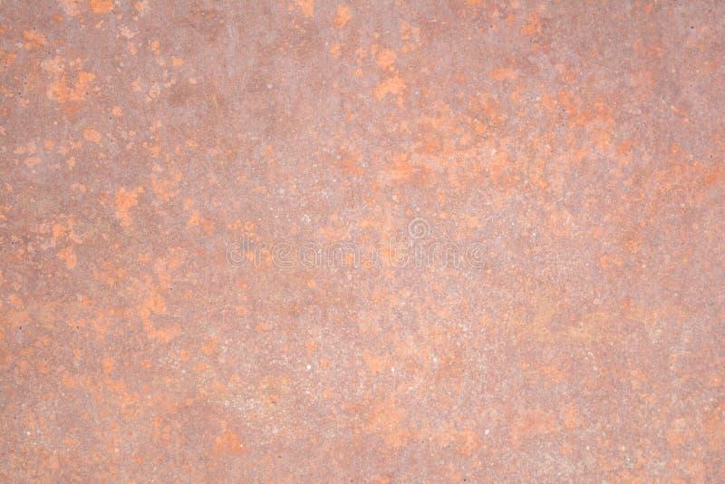 Textuur van roestige metaaloppervlakte, abstracte achtergrond royalty-vrije stock foto