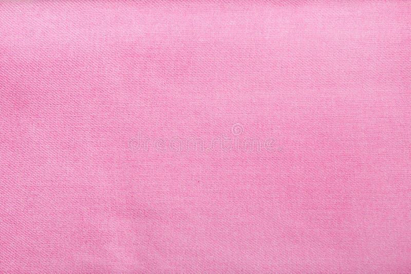 Textuur van roze stof royalty-vrije stock foto