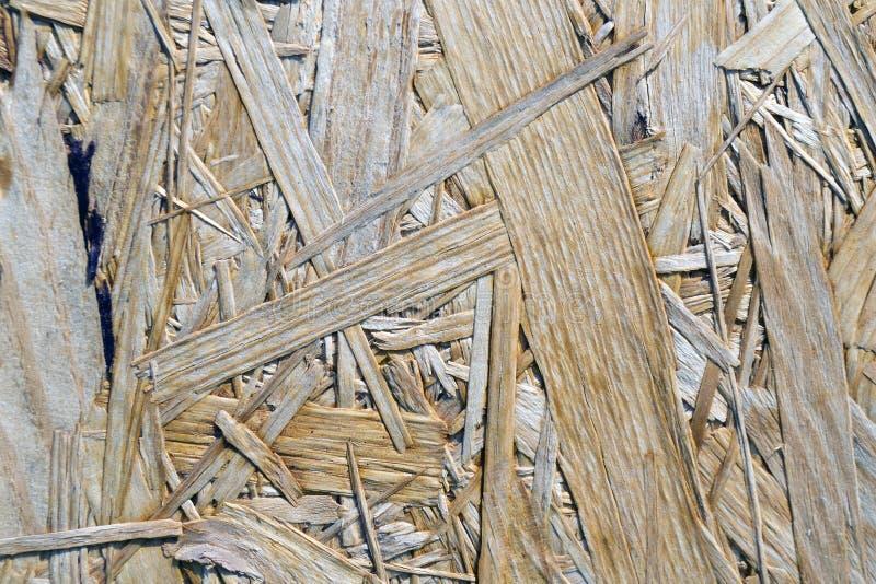 Textuur van samengeperste zaagselraad stock afbeeldingen