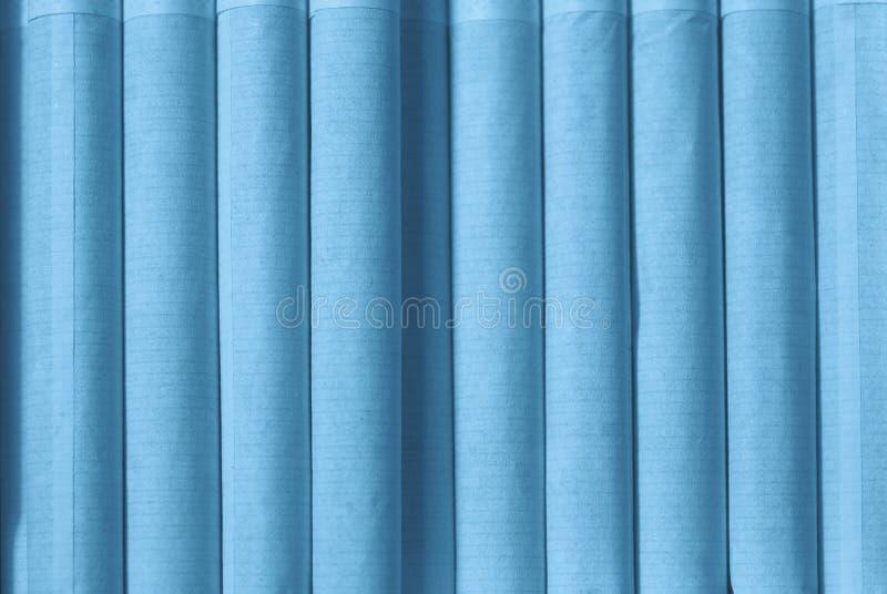 Textuur van sigaretten met een filterclose-up in blauwe tonen stock foto's