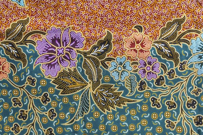 Textuur van Thaise stof royalty-vrije stock afbeeldingen