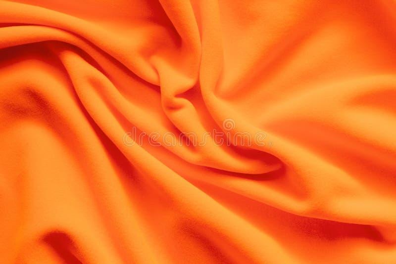 Textuur van trillende oranje vacht stock afbeeldingen