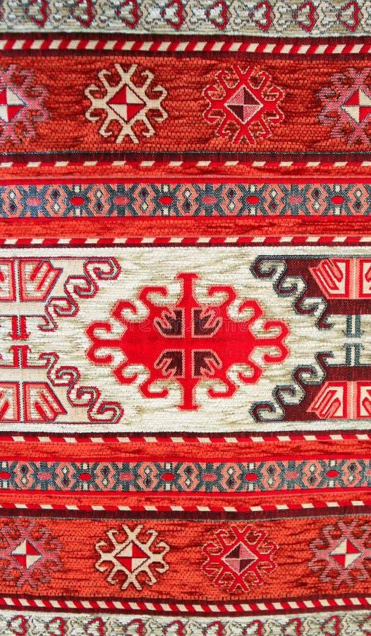 Textuur van Turks Tapijt royalty-vrije stock foto