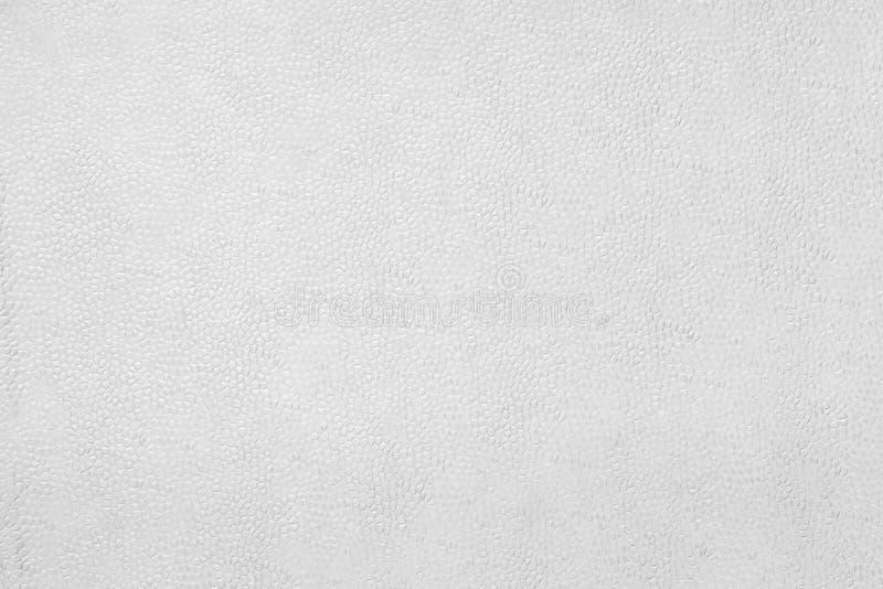 Textuur van wit hobbelig document stock foto
