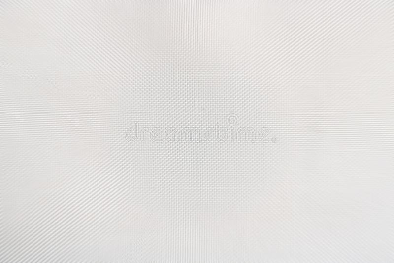 Textuur van wit plastiek met materiële vlokreepjes, abstracte patroonachtergrond, selectieve nadruk royalty-vrije stock foto's