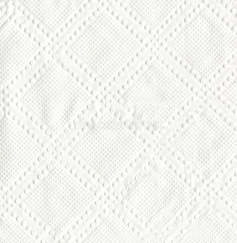 Textuur van witte papieren zakdoekje, achtergrond of textuur stock afbeeldingen
