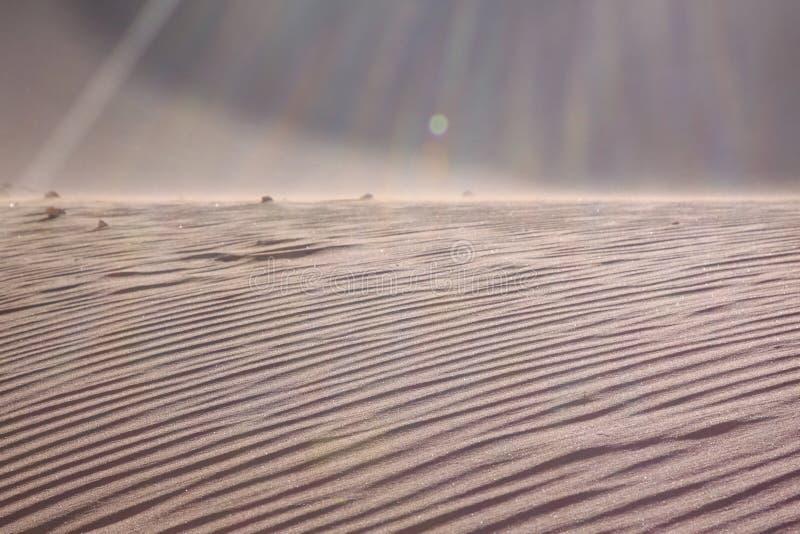 Textuur van zand stock foto's